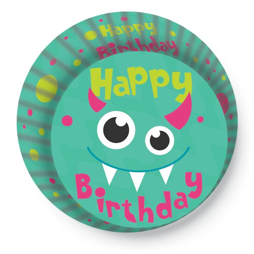 Papírové košíčky na Muffiny a cupcakes 50ks č. Muf-166 Happy Birthday