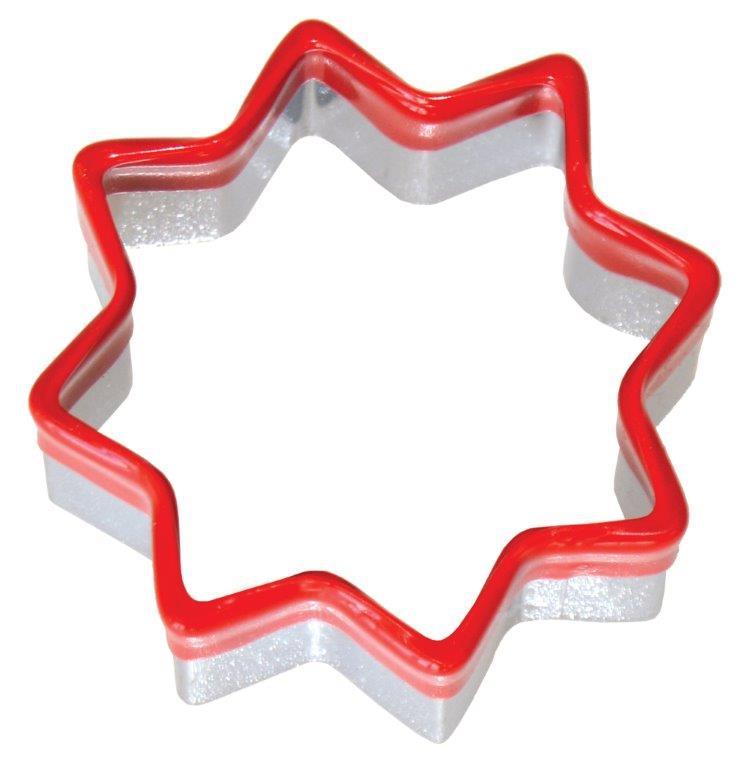 Vykrajovátko na cukroví a perníčky s komfortním držadlem - Hvězdice č. CF-6