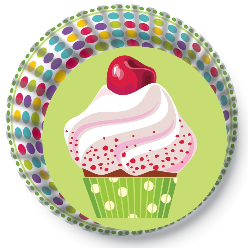 Papírové košíčky na Muffiny a cupcakes  50ks č. Muf-173 cupcake