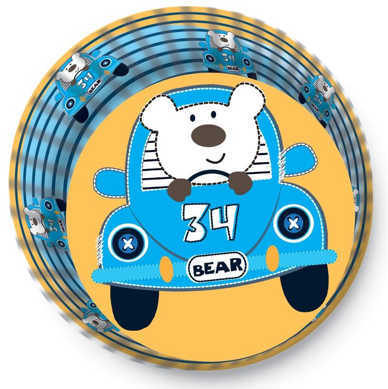 Papírové košíčky na Muffiny a cupcakes  50ks č. Muf-179 medvídek a autíčka