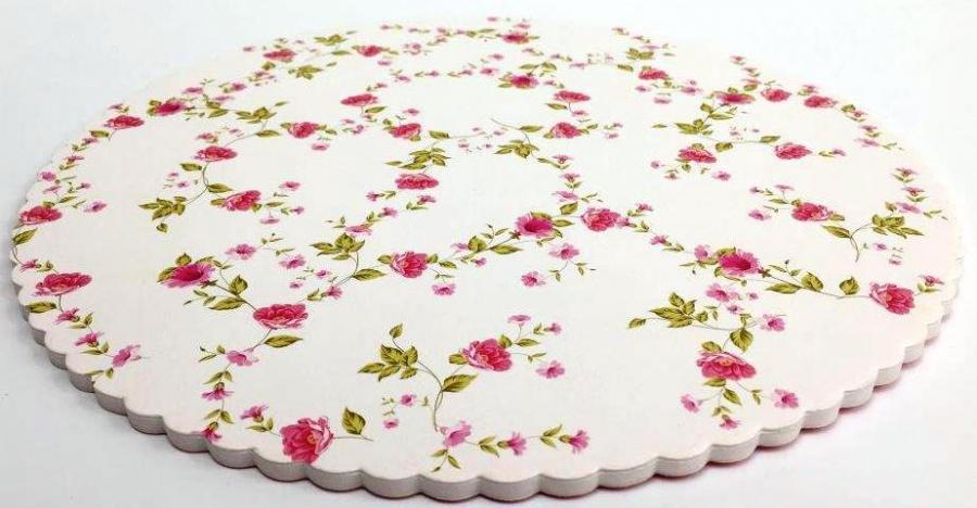 Barevná dortová podložka 27cm s designem CB3