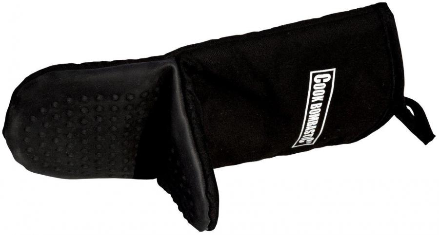 Kuchyňská rukavice se silikonovou dlaní č. Mitt-11 černy od značky COOK BOMBASTIC